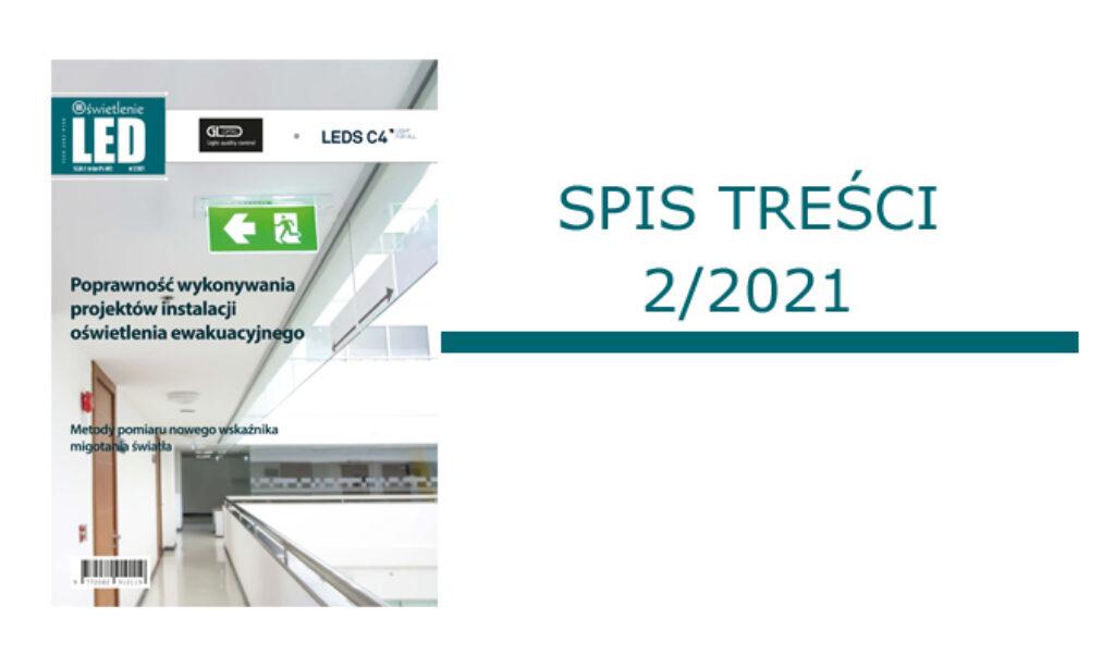SPIS TREŚCI 2/2021