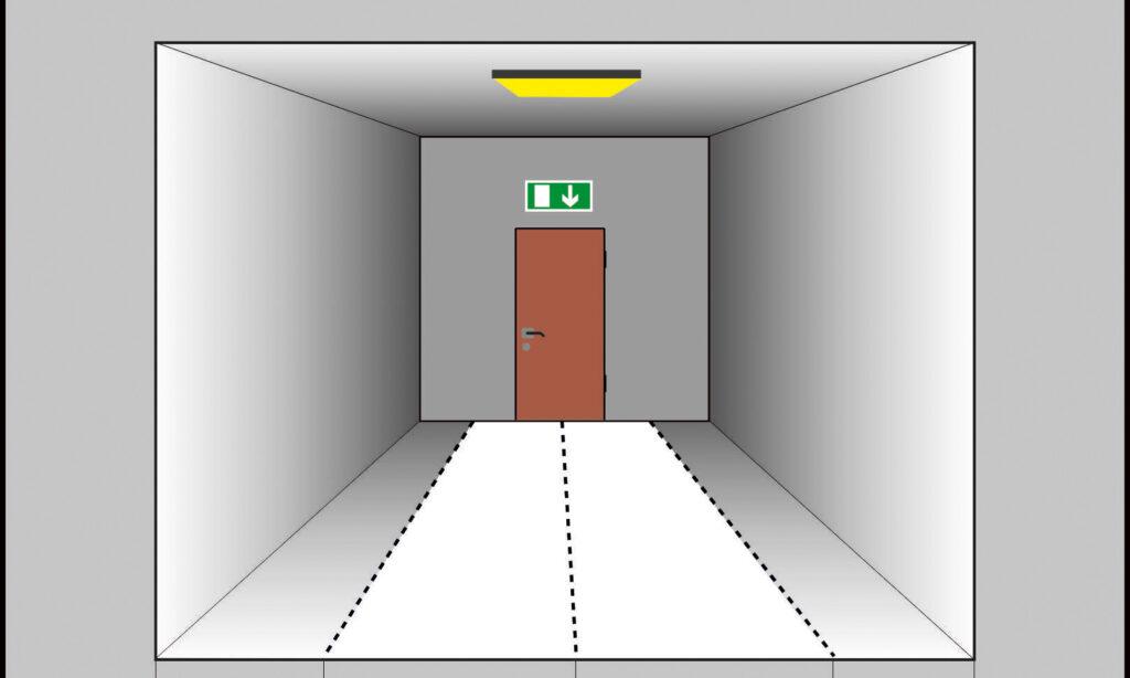 Zasady stosowania oświetlenia ewakuacyjnego oraz wyniki weryfikacji pomiarowej poprawności projektów oświetlenia ewakuacyjnego
